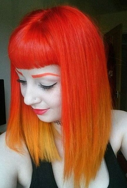 Adorable Orange Hair Ideas The HairCut Web