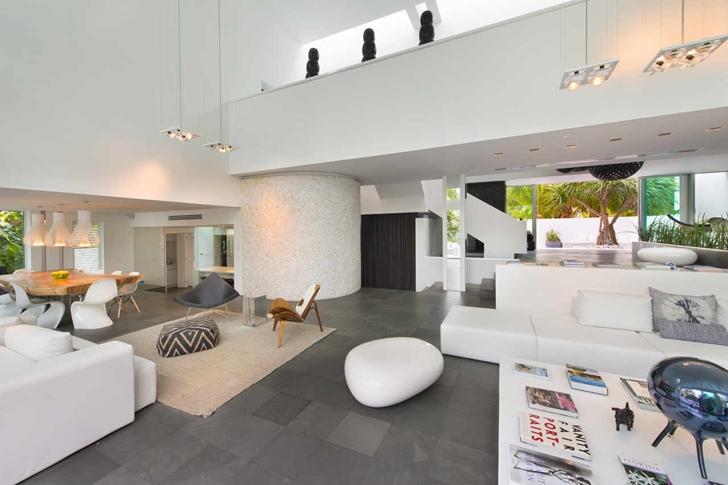 modern mansion in miami interior - Modern Mansions Interior