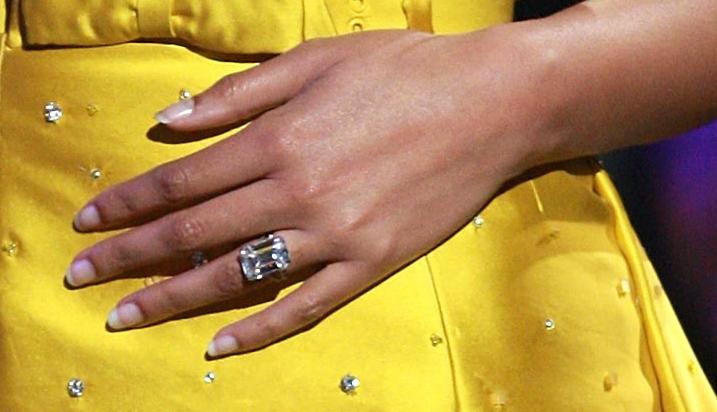 Beyonce Wedding Ring Carats