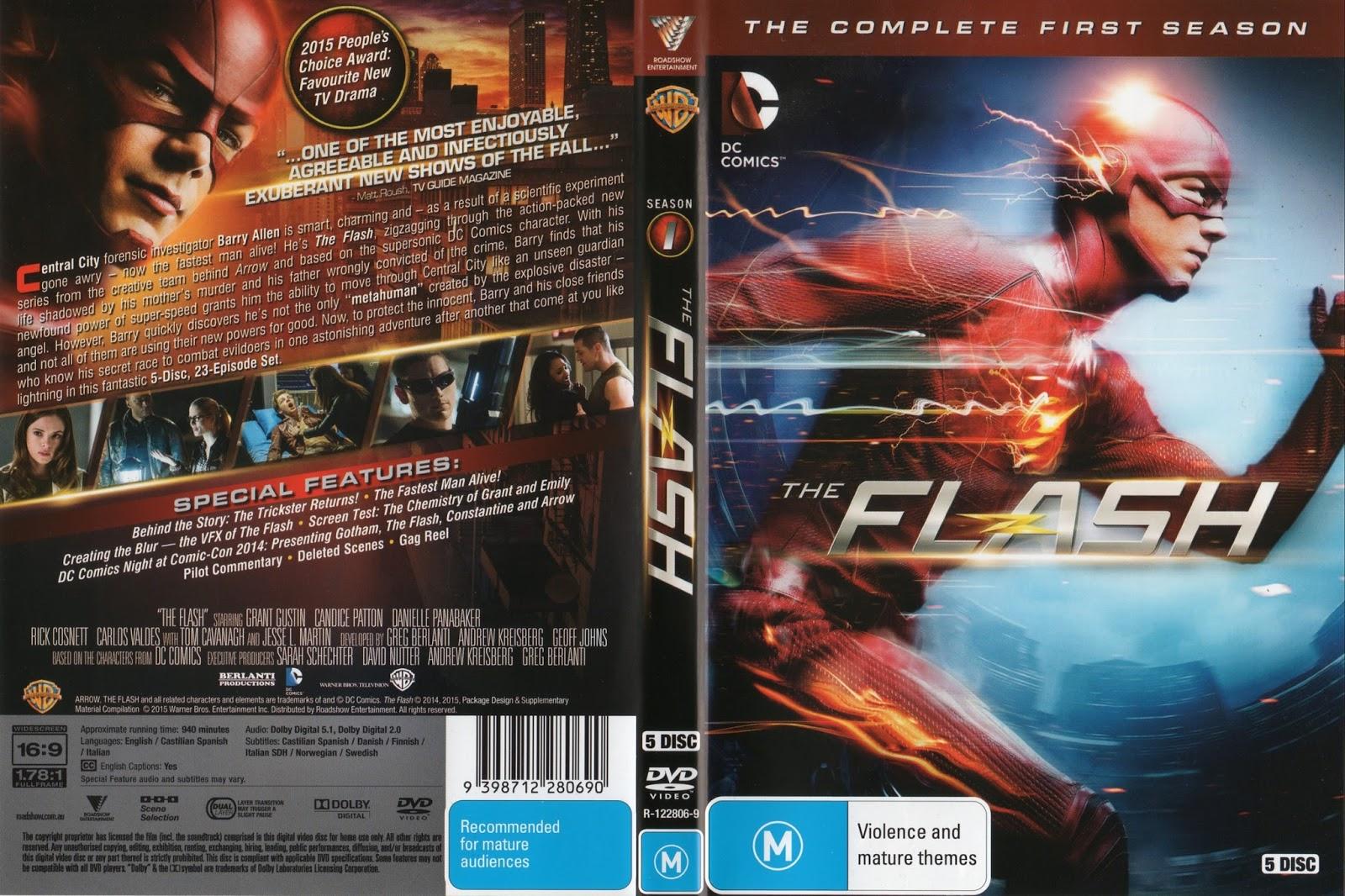 The Flash T01 - Official - English Version | Gigante das Capas