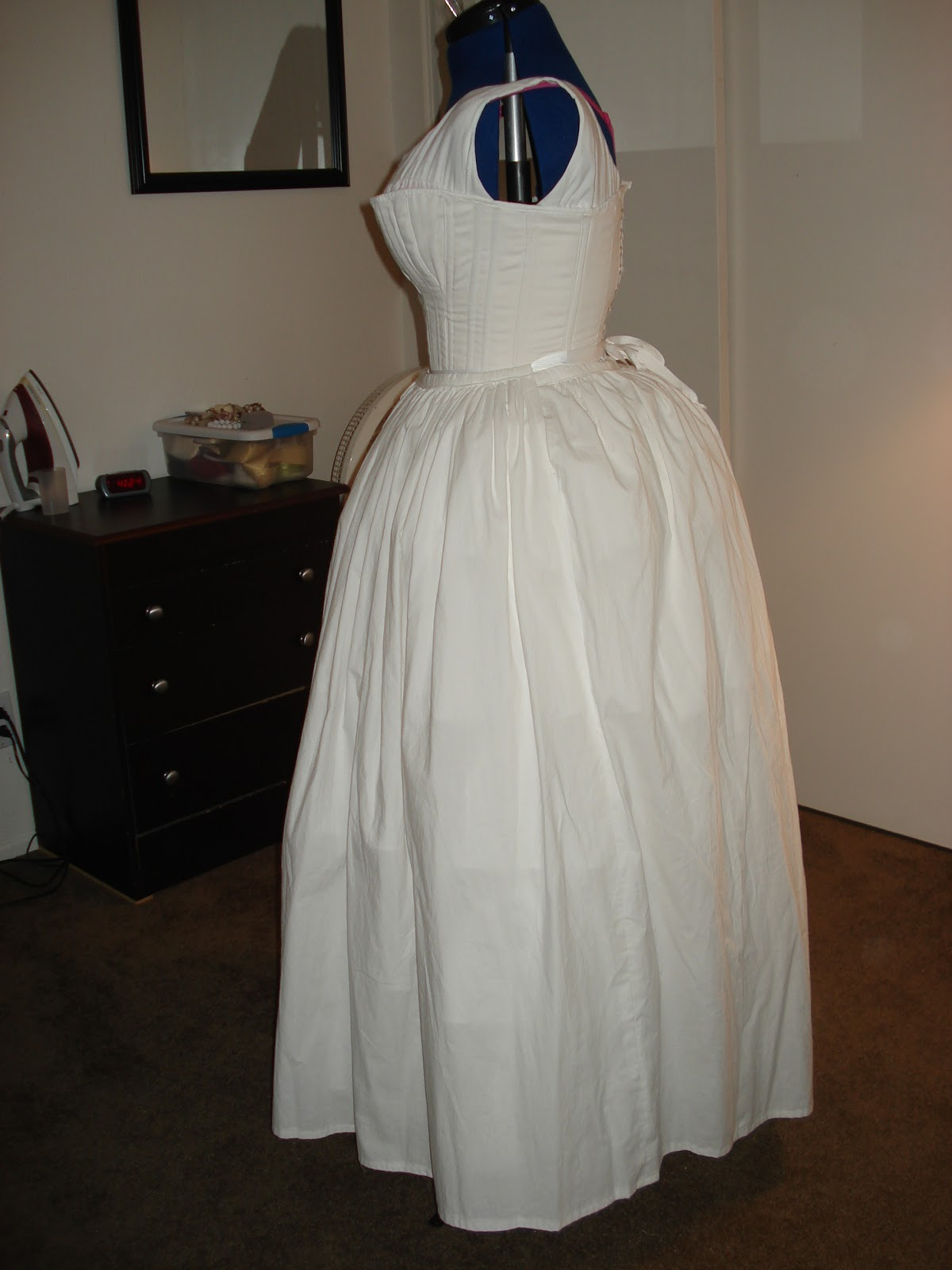 how to make a bum pad historical costuming