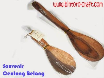 Souvenir Centong Nasi Kayu Murah