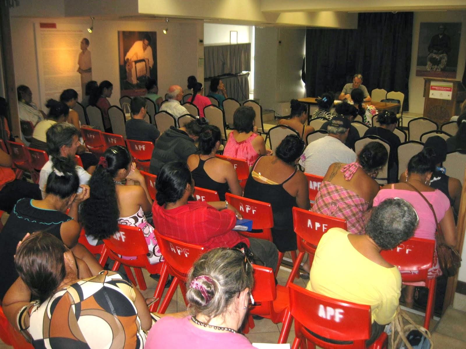 Assemblée de la Polynésie française 2013