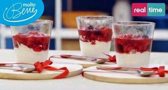 Semifreddo alla Panna con Frutti Rossi di Benedetta Parodi