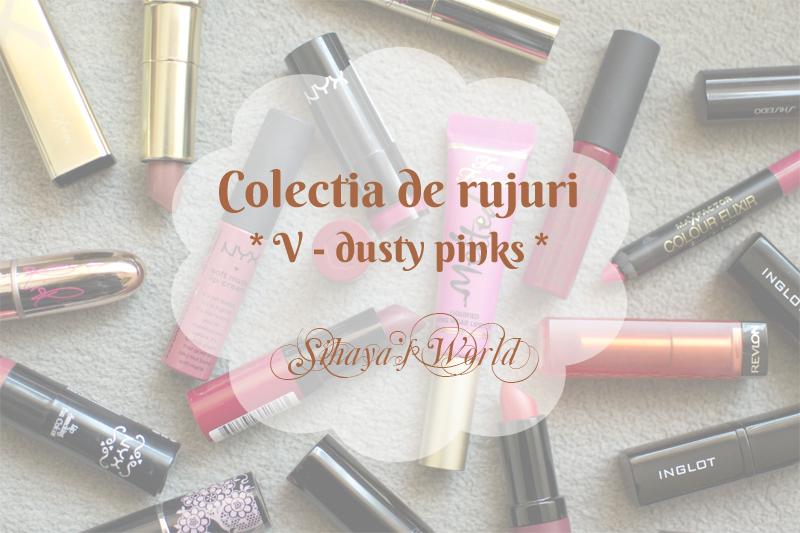 colectia de rujuri dusty pink cover