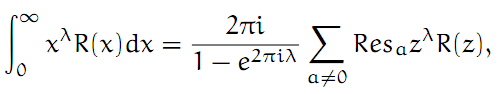 Complex Analysis: #19 Integrating Out From a Pole equation pic 2
