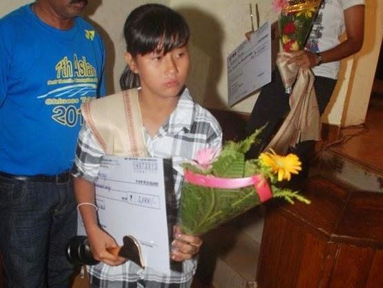 Srijana is the star midfielder from Darjeeling