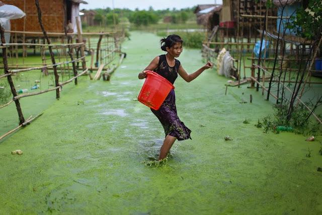 ေက်ာ္လင္းထြန္း (Myanmar Now) – ဒဏ္ရာရ က်ဴးေက်ာ္ရပ္ကြက္