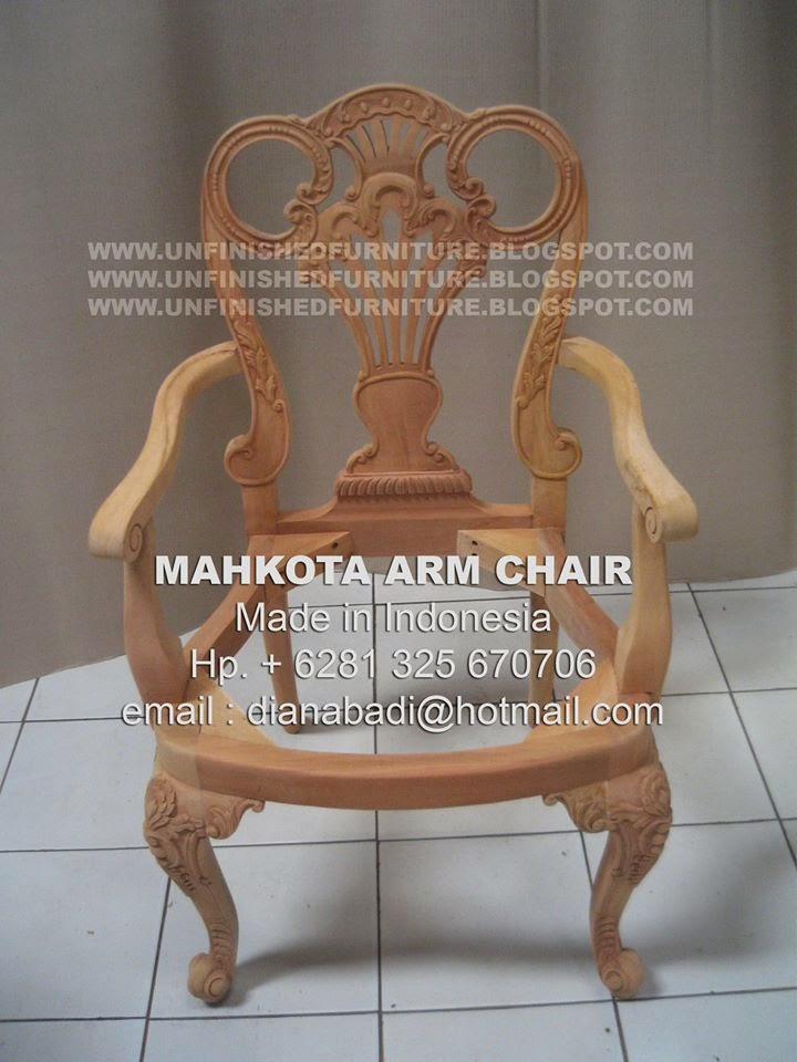 supplier indonesia wooden furniture supplier mahogany chair supplier dining arm chair supplier classic wooden frame chair