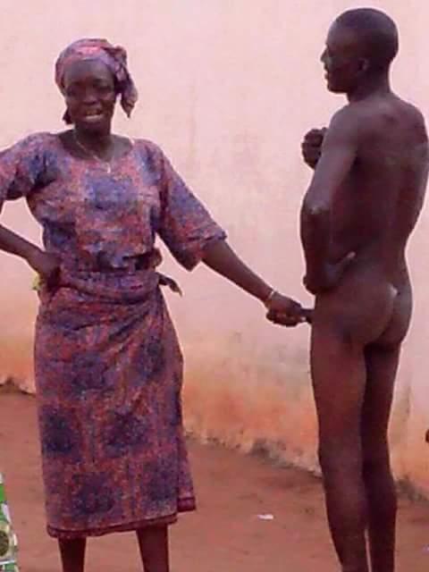 Naked virgins in shower