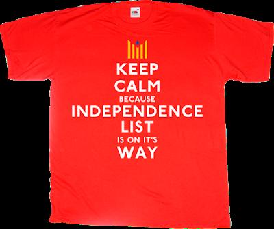 independence catalonia freedom anc assemblea nacional catalana convergència omnium esquerra ERC cup t-shirt ephemeral-t-shirts