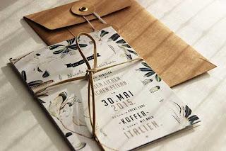10 Creativos diseños de tarjetas de invitación de bodas