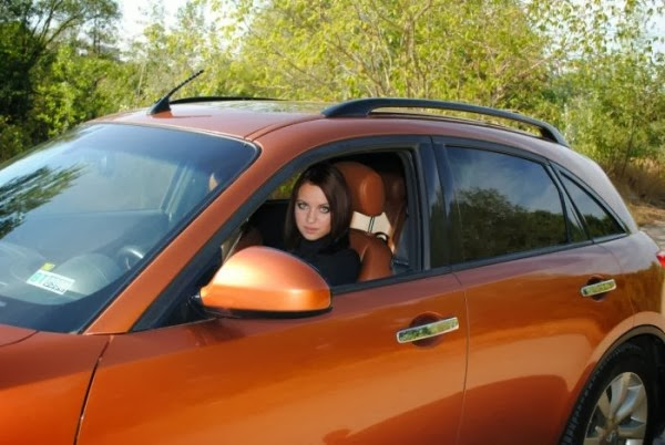 Russian Car and Hot Russian Girls