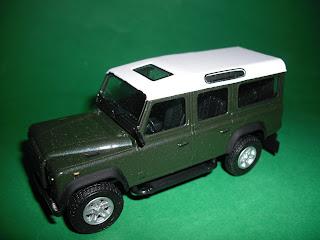 Vendo Miniaturas Land Rover / RANGE ROVER Land+Rover+Defender+110+-+Verde+Escuro