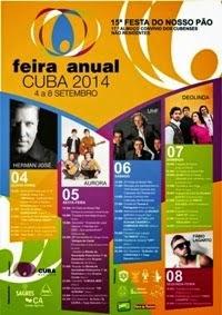 Cuba- Feira Anual 2014- 4 a 8 Setembro
