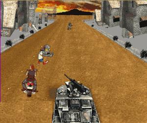Zombilerin Tank  Savaşı