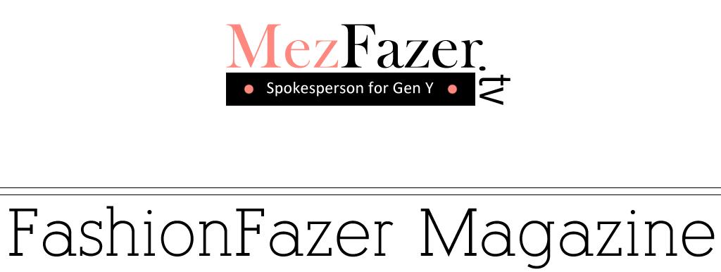 Mez Fazer// Spokesperson for Gen Y