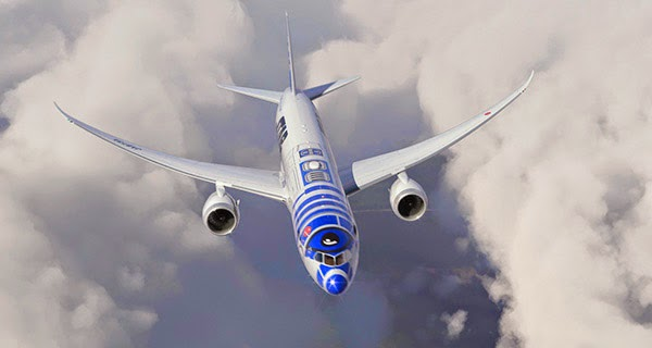 foto Avión R2-D2 ANA Airflyes