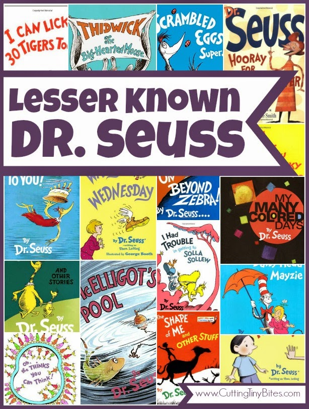Books by Dr. Seuss that don't get quite as much attention as The Cat In The Hat. Great choices for kids, with reviews of each!