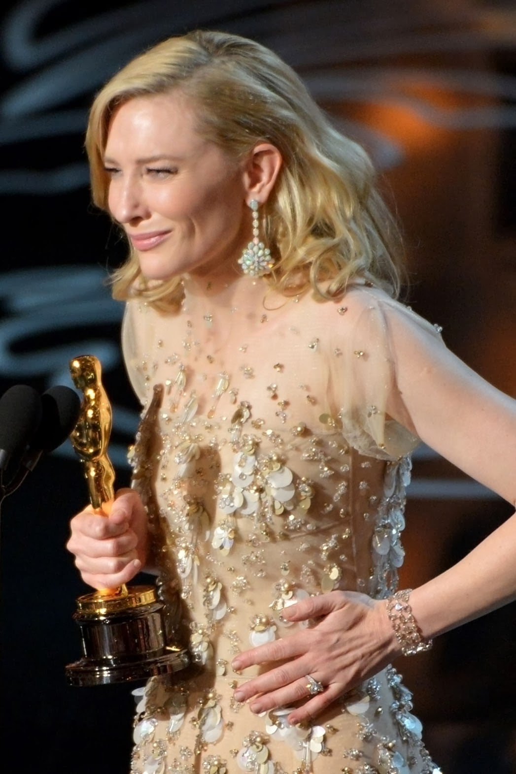 Cate Blanchett Óscars 2014