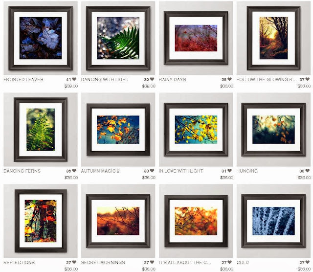 FRAMED ART PRINTS BY ANNIE JAPAUD
