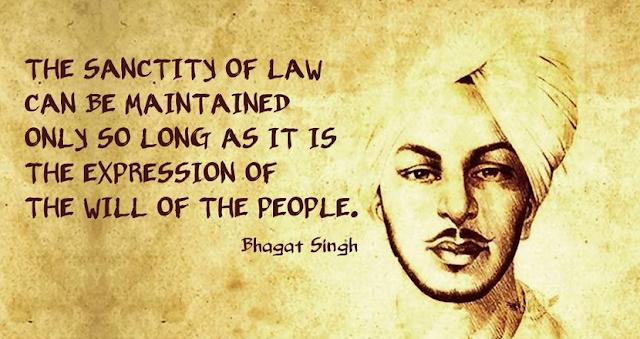 Quote Bhagat Singh
