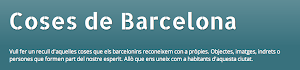 Coses de Barcelona (Catalan & Spanish)