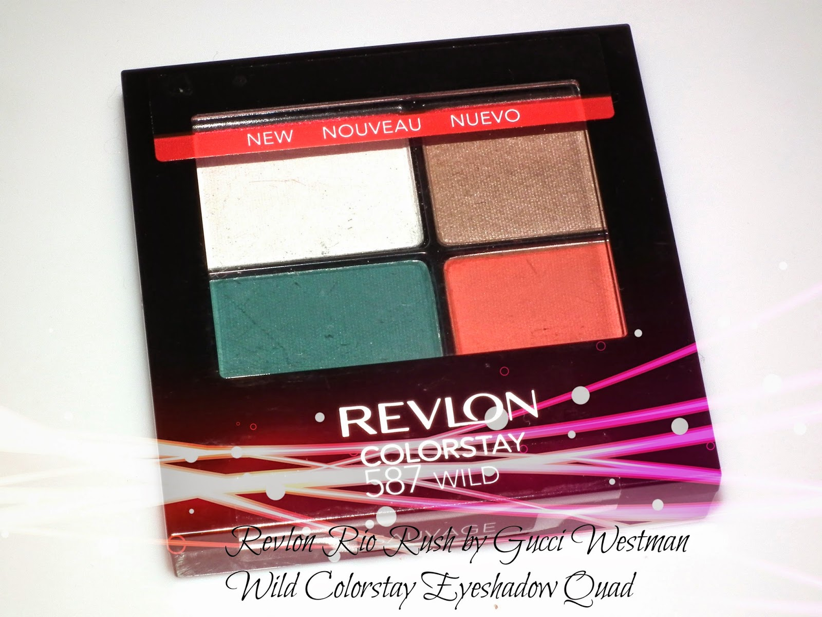 Revlon Rio Rush by Gucci Westman Wild Colorstay Eyeshadow Quad