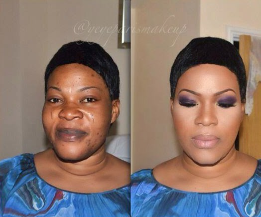 PHOTO The Miracle And Beauty Of Women Make-Ups