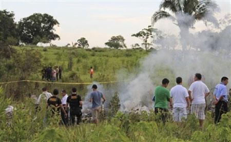 Five Americans die in chopper crash in Peru