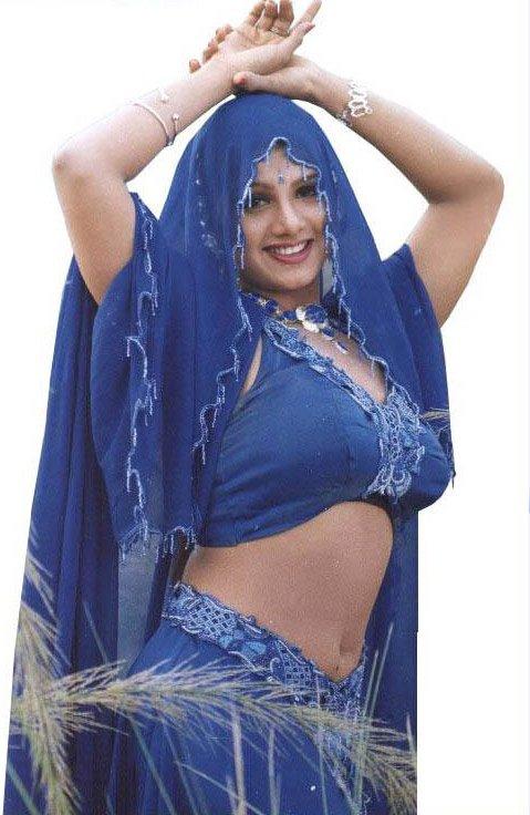 rambha hot body show