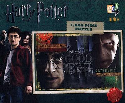 Harry Potter & Lord Voldemort Good Versus Evil Puzzle