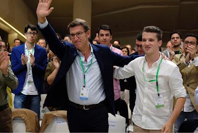 a Adrian Pardo, novo presidente de Novas Xeracions
