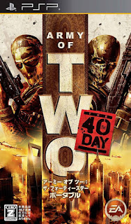Army of Two: The 40th Day PSP GAME