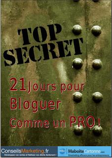 21 jours pour devenir un blogueur pro