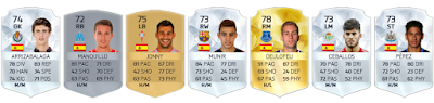 España sub 21 FIFA 16 Ultimate Team