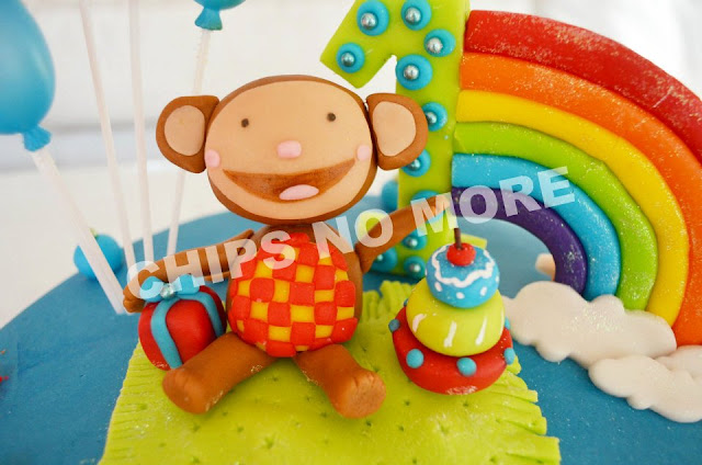 Baby Tv Oliver Cake
