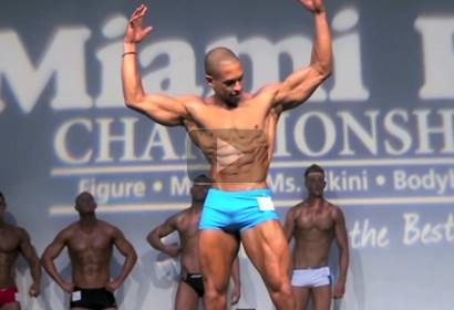 WBFF Pro Jason Wins First Competition