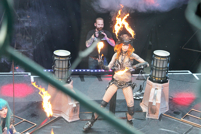 London Tattoo Convention 2015 with Pyrohex and the Fuel Girls