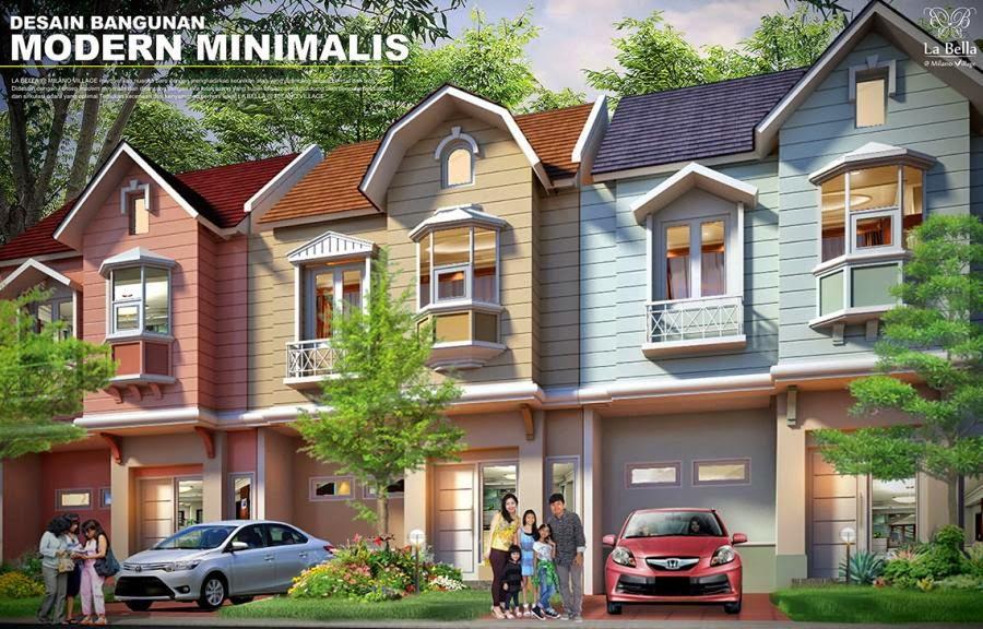 Rumah Cluster La Bella Milano Village Serpong Beli Rumah Dijual Serpong Tangerang