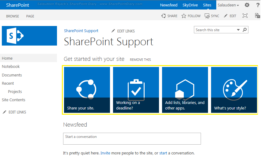 promoted links sharepoint 2013