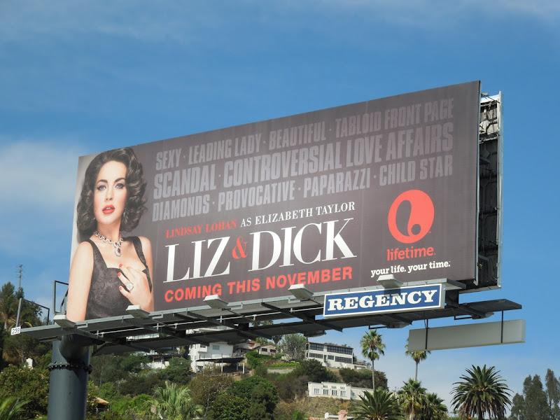Liz and Dick Lifetime billboard