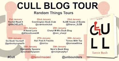 CULL BLOG TOUR  - Tanvir Bush