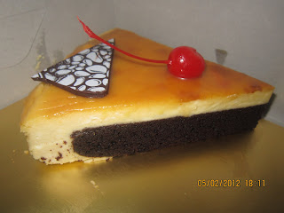 SWISS CARAMEL CHEESE CAKE