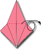 Cara Membuat Origami Capung