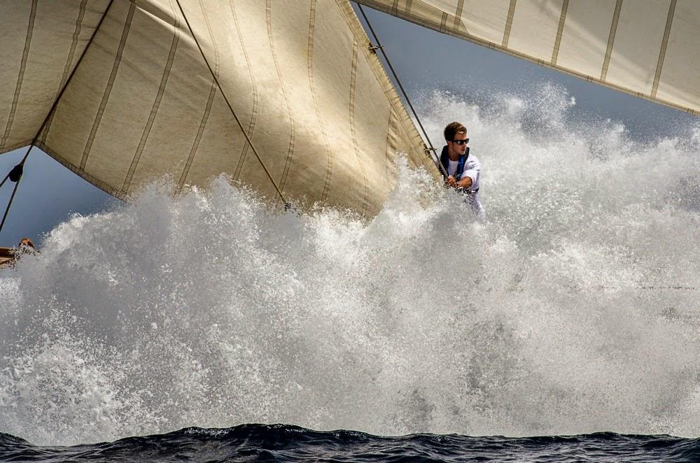 La photo d'Alfred Farré, vainqueur du concours Mirabaud Yacht Racing Image 2014