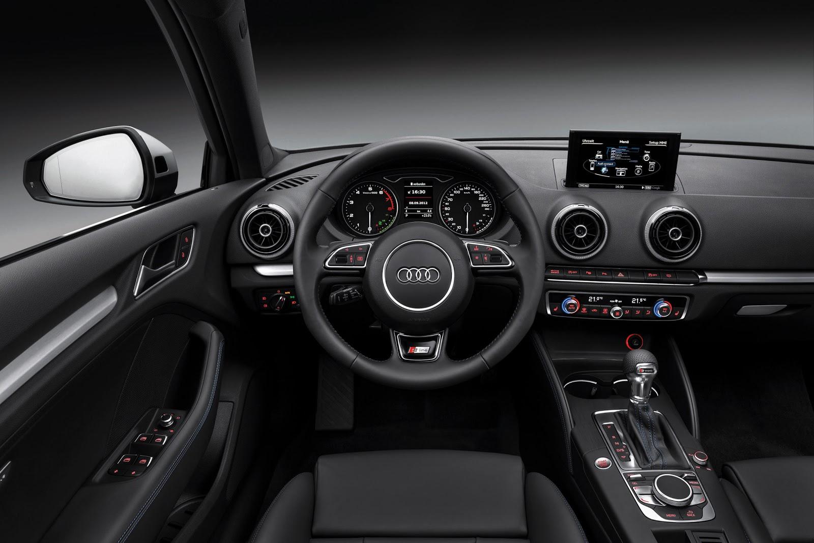 Audi a3 typ 8v dashboard