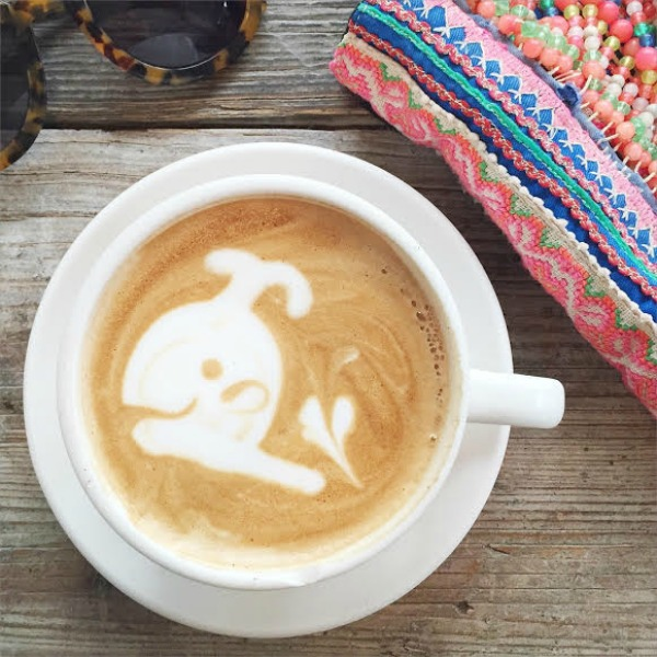 malibu farm latte art