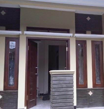 Pengerjaan Cat Melamine pada Kusen, pintu & Jendela
