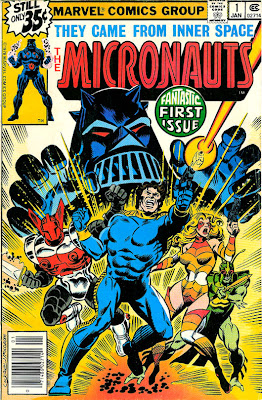 Marvel Comics' The Micronauts Comic Book